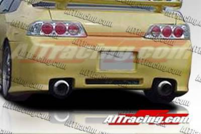 AIT Racing - Honda Prelude AIT Racing Revolution Style Rear Bumper - HP97HIREVRB