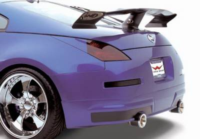 Wings West - Nissan 350Z Wings West Z-Spec Rear Lower Wrap - 890780