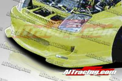 AIT Racing - Honda Prelude AIT Racing SF1 Style Front Bumper - HP97HISF1FB