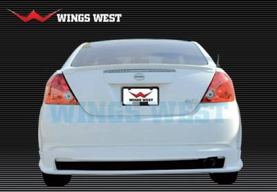 Wings West - Scion tC Wings West A-Spec Rear Lower Skirt - 890864