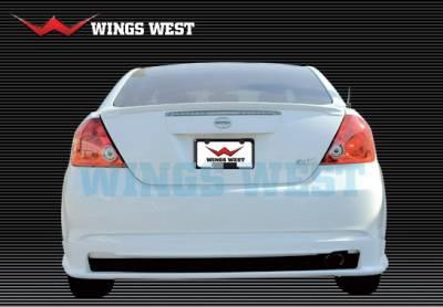 Wings West - Scion tC Wings West A-Spec Rear Lower Skirt - 890864