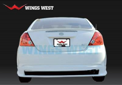 VIS Racing - Scion tC VIS Racing A-Spec Rear Lip - Polyurethane - 890864