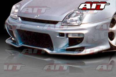 AIT Racing - Honda Prelude AIT VS2 Style Front Bumper - HP97HIVS2FB