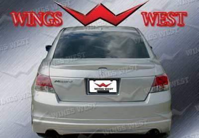 Wings West - Honda Accord 4DR Wings West VIP Rear Lower Skirt - 890958