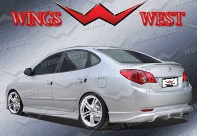 VIS Racing - Hyundai Elantra VIS Racing Fuzion Rear Lip - Polyurethane - 890994