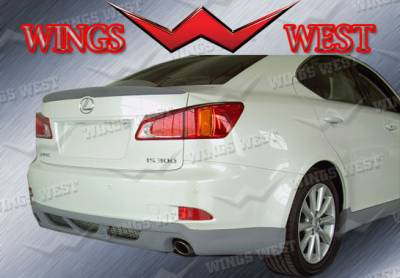 VIS Racing - Lexus IS VIS Racing WW Vip Rear Lip - Polyurethane - 891002