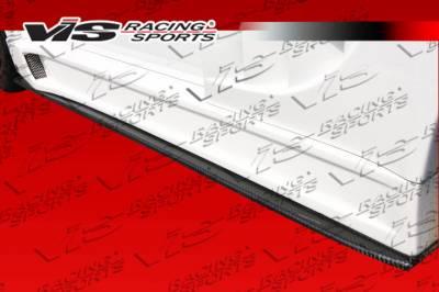 VIS Racing - Honda S2000 VIS Racing Z-Speed Carbon Fiber Side Diffuser - 00HDS2K2DZSPWB-034C