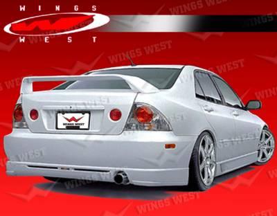 VIS Racing - Lexus IS VIS Racing JPC Rear Lip - Polyurethane - 00LXIS34DJPC-012P