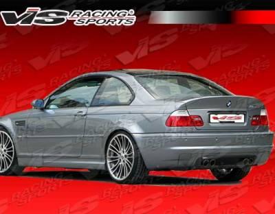 VIS Racing. - BMW 3 Series 2DR VIS Racing CSL Rear Lip - 01BME46M32DCSL-012