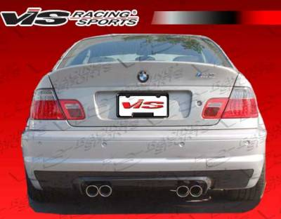 VIS Racing - BMW 3 Series 2DR VIS Racing CSL Carbon Fiber Rear Lip - 01BME46M32DOE-032C