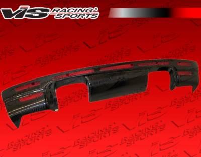 VIS Racing - BMW 3 Series 2DR VIS Racing VRS Carbon Fiber Lip - 01BME46M32DVRS-012C