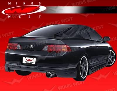 VIS Racing - Acura RSX VIS Racing JPC Rear Addon - 02ACRSX2DJPC-012P