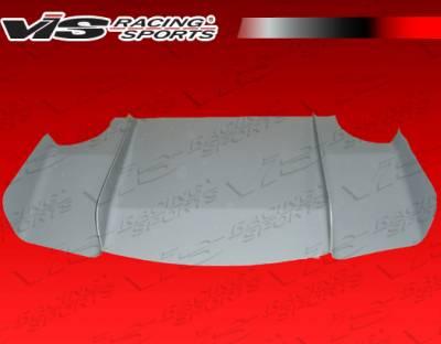 VIS Racing - Lotus Elise VIS Racing Custom Carbon Fiber Rear Diffuser - 02LTELI2DCUS-032C