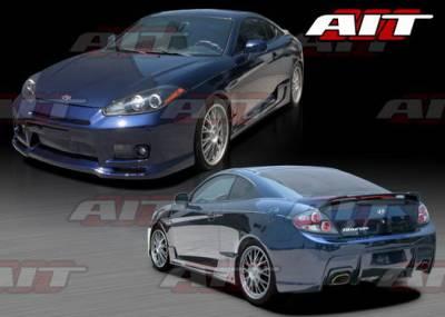 AIT Racing - Hyundai Tiburon AIT Racing GT-Spec Style Body Kit - HT07HIGTSCK