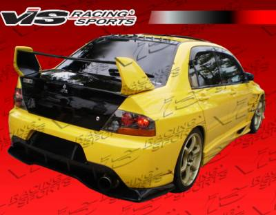 VIS Racing. - Mitsubishi Evolution 8 VIS Racing VTX Widebody Rear Addon - 03MTEV84DVTXWB-012