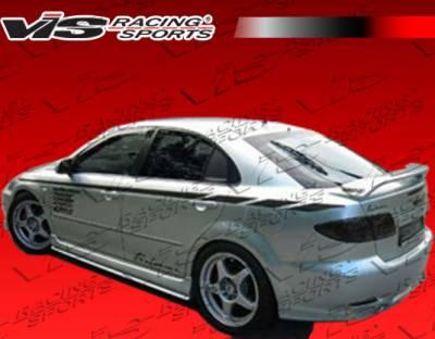VIS Racing - Mazda 6 VIS Racing Magnum Rear Lip - 03MZ64DMAG-012
