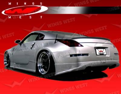 VIS Racing - Nissan 350Z VIS Racing JPC Type N Rear Lip - 03NS3502DJPCN-012