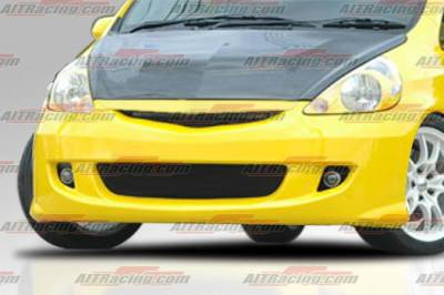 AIT Racing - Honda Fit AIT Racing MG Style Front Bumper - HT07HIMGNFB