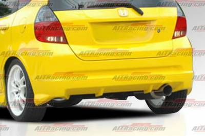 AIT Racing - Honda Fit AIT Racing MG Style Rear Bumper - HT07HIMGNRB