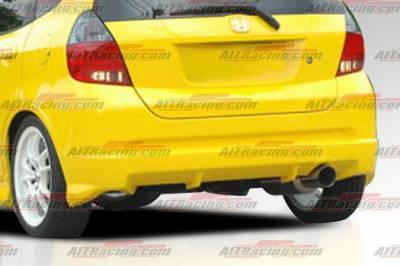 AIT Racing - Honda Fit AIT Racing MG Style Rear Bumper - HT07HIMGNRB