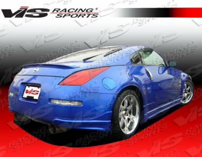 VIS Racing - Nissan 350Z VIS Racing Tracer Rear Addon - 03NS3502DTRA-012