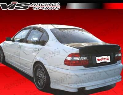 VIS Racing - BMW 3 Series 4DR VIS Racing Euro Tech Rear Lip - 04BME464DET-012