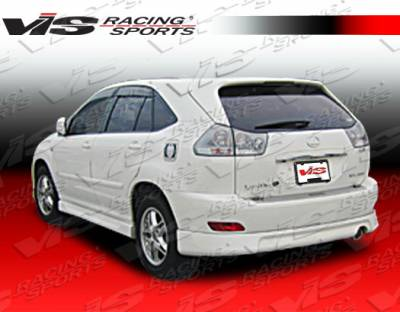 VIS Racing - Lexus RX330 VIS Racing Techno-R Rear Lip - 04LXRX34DTNR-012