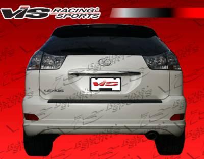 VIS Racing - Lexus RX330 VIS Racing VIP Rear Lip - 04LXRX34DVIP-012