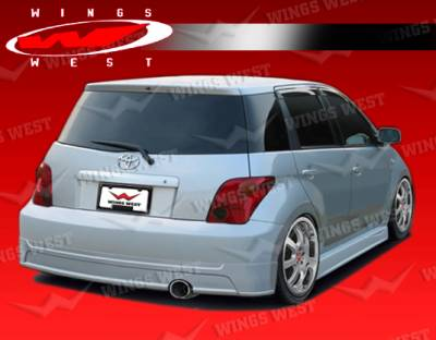 VIS Racing - Scion xA VIS Racing JPC Rear Lip - Polyurethane - 04SNXA4DJPC-012P