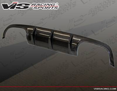 VIS Racing - Mercedes-Benz SLK VIS Racing DTM Carbon Fiber Rear Diffuser - 05MER1712DDTM-032C