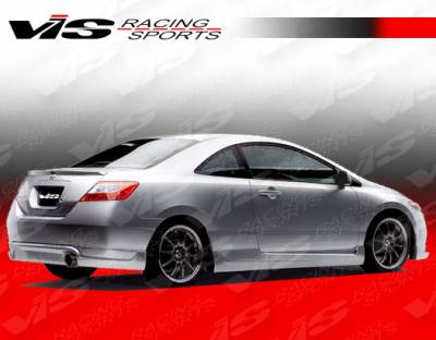 VIS Racing - Honda Civic 2DR VIS Racing Touring 2 Rear Lip - 06HDCVC2DTOU2-012