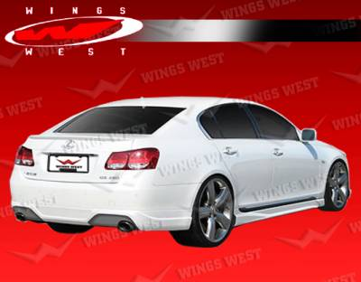 VIS Racing - Lexus GS VIS Racing JPC Rear Lip - Urethane - 06LXGS34DJPC-012P