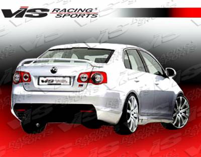 VIS Racing - Volkswagen Jetta VIS Racing C Tech Rear Addon - 06VWJET4DCTH-012
