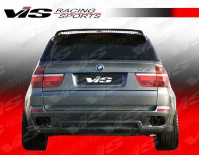 VIS Racing - BMW X5 VIS Racing Euro Tech Rear Lip - 07BMX54DET-012