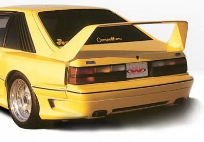 Wings West - Ford Mustang Wings West Dominator Rear Lower Skirt - 591013RLW