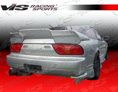 VIS Racing - Nissan 240SX HB VIS Racing Invader Rear Addon - 89NS240HBINV-012