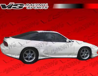 VIS Racing - Nissan 240SX HB VIS Racing Invader-4 Rear Addon - 89NS240HBINV4-012
