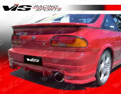 VIS Racing - Nissan NX VIS Racing J-Speed Rear Lip - 91NSNX2DJSP-012