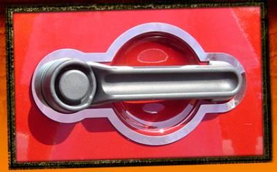 RealWheels - Jeep Wrangler RealWheels Door Handle Trim - Polished Stainless Steel - 3PC - RW122-1-J