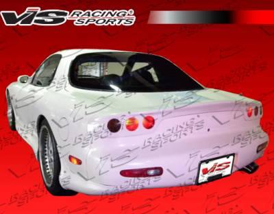 VIS Racing - Mazda RX-7 VIS Racing G-Speed Rear Aprons - 93MZRX72DRX-012