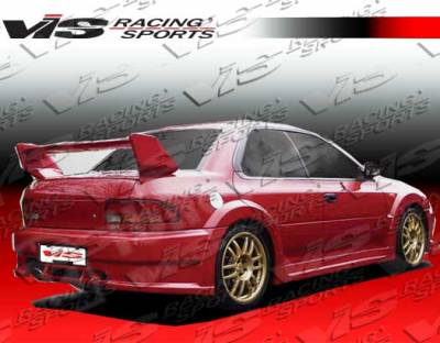 VIS Racing - Subaru Impreza VIS Racing Viper Rear Addon - 93SBIMP4DVR-002