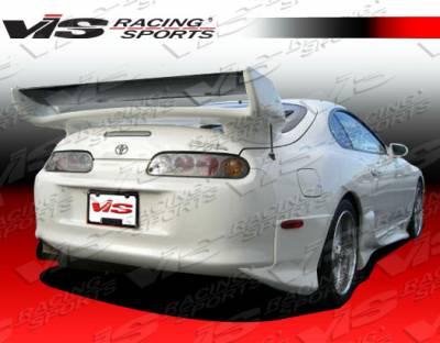 VIS Racing - Toyota Supra VIS Racing Invader Rear Addon - 93TYSUP2DINV-012