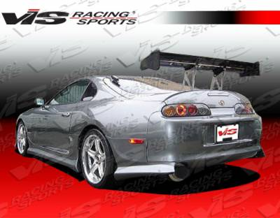 VIS Racing - Toyota Supra VIS Racing Terminator Rear Addon - 93TYSUP2DTM-012