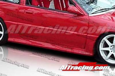 AIT Racing - Honda CRX AIT Racing MGN Style Side Skirts - HX88HIMGNSS