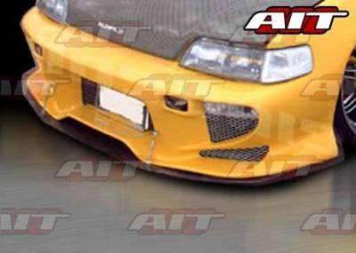 AIT Racing - Honda CRX AIT VS2 Style Front Bumper - HX88HIVS2FB
