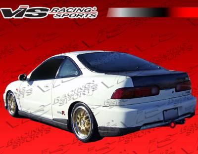 VIS Racing. - Acura Integra 2DR VIS Racing Type R Rear Addon - 98ACINT2DTYR-012