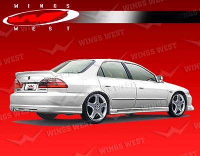 VIS Racing - Honda Accord 4DR VIS Racing JPC Rear Lip - Polyurethane - 98HDACC4DJPC-012P