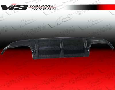 VIS Racing - Mercedes-Benz CLK VIS Racing DTM Carbon Fiber Rear Diffuser - 98MEW2082DDTM-032C