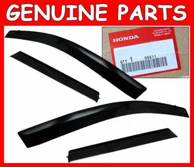 4 Car Option - Honda Fit 4 Car Option Window Visor - JDM-WD-GD3