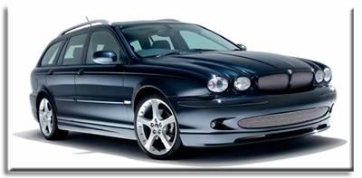 Custom - Jaguar X-Type Estate Sport Body Kit